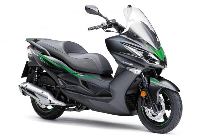 Kawasaki J125 xe tay ga 125cc co gia ban khoang 137 trieu Dong - 7
