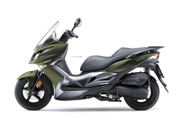 Kawasaki J125 xe tay ga 125cc co gia ban khoang 137 trieu Dong - 11