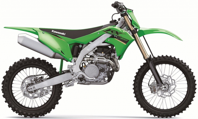 Kawasaki KX450 2022 trinh lang dong co da duoc dai tu hoan toan - 4