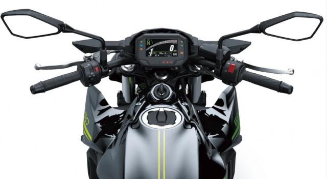 Kawasaki Z650 2022 gia nhap xu huong su dung khung xe mau do - 4