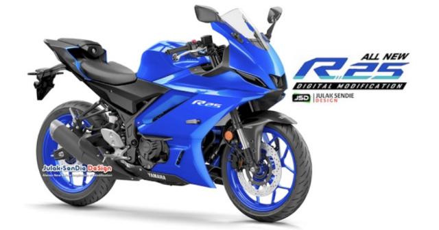 Lo tin Yamaha R25 R3 hoan toan moi se ra mat vao cuoi nam 2021 hoac dau nam 2022