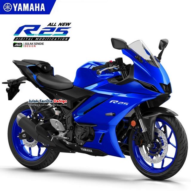 Lo tin Yamaha R25 R3 hoan toan moi se ra mat vao cuoi nam 2021 hoac dau nam 2022 - 4