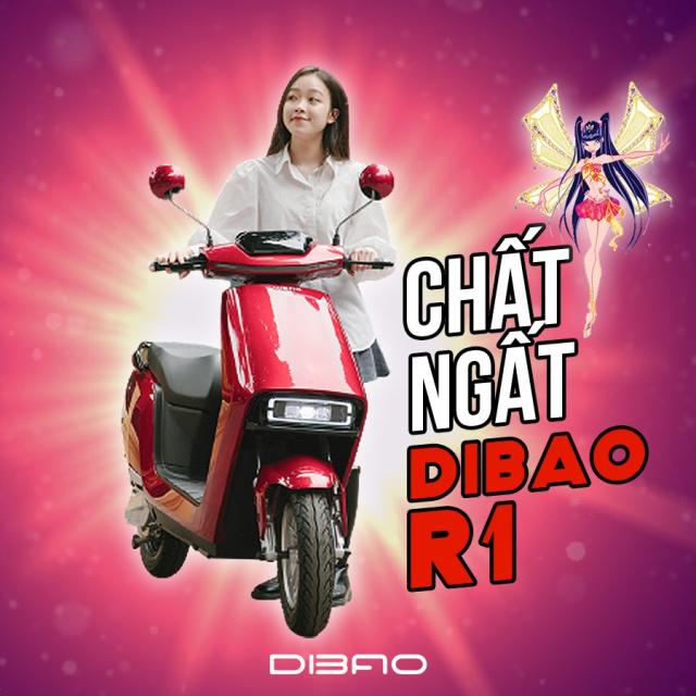 Xe May Dien Dibao R1 2021