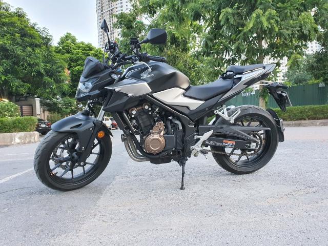 Ban xe Honda CB500F 2021 moi di duoc 400km