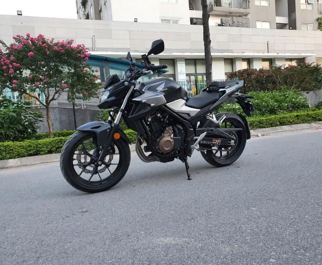 Ban xe Honda CB500F 2021 moi di duoc 400km - 5