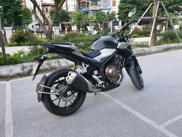 Ban xe Honda CB500F 2021 moi di duoc 400km - 2