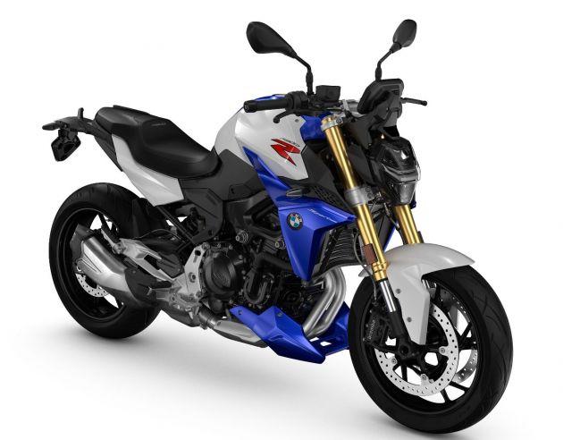 BMW Motorrad Fseries 2022 duoc cap nhat mau sac moi
