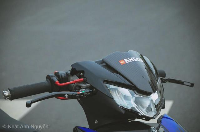 Exciter 150 do kinh khung cua biker Long Xuyen - 4