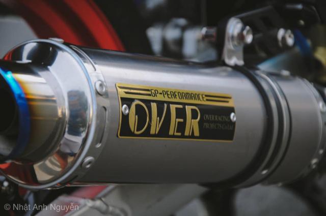 Exciter 150 do kinh khung cua biker Long Xuyen - 16