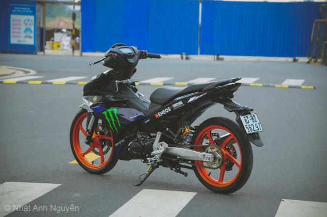 Exciter 150 do kinh khung cua biker Long Xuyen - 21