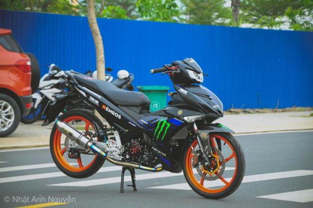 Exciter 150 do kinh khung cua biker Long Xuyen - 3