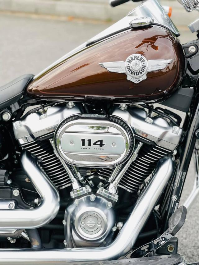 Harley Davidson FATBOY 114 2019 Xe Moi Dep