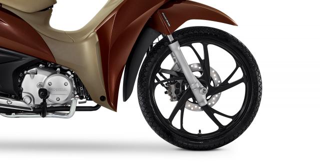 Honda Biz 2021 Mau xe so gia cuc man lai tap giua Future Led va Vision - 8