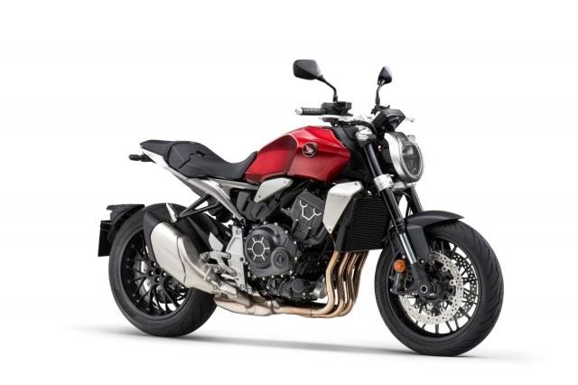 Honda CB1000R CBR1000R Plus 2021 ra mat tai Dai Loan - 4