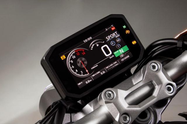 Honda CB1000R CBR1000R Plus 2021 ra mat tai Dai Loan - 6