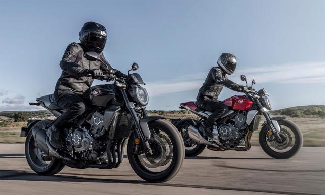 Honda CB1000R CBR1000R Plus 2021 ra mat tai Dai Loan - 8