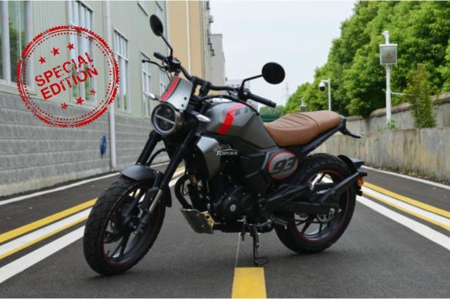 Honda CB190TR trinh lang voi ngoai hinh hap dan - 6