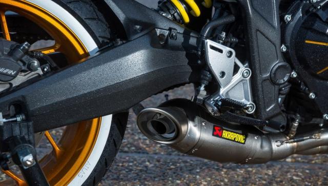 Honda CB650R do lay cam hung tu mau xe dap BMX ngo nghinh - 6