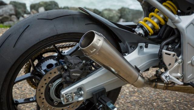 Honda CB650R do phong cach tan co dien cua Hakuba Motor - 4