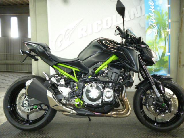 Kawasaki Z900 ABS 2019 xanh den