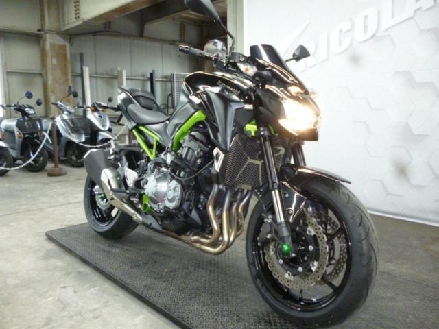 Kawasaki Z900 ABS 2019 xanh den - 7