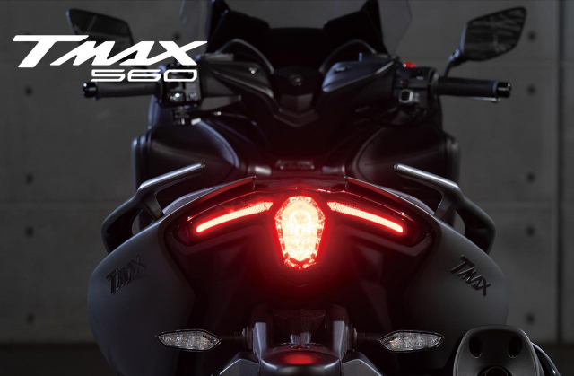 Lo bang sang che Yamaha dang phat trien TMAX Hybrid moi