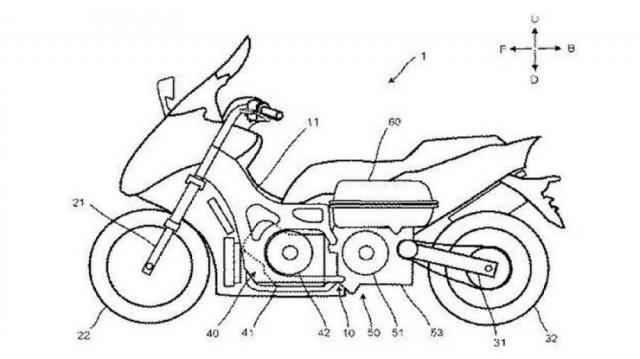 Lo bang sang che Yamaha dang phat trien TMAX Hybrid moi - 4