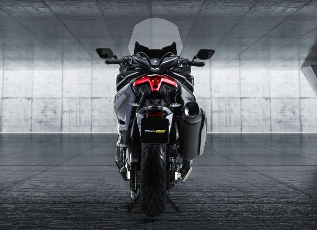 Lo bang sang che Yamaha dang phat trien TMAX Hybrid moi - 6
