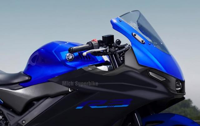 Lo dien hinh anh cua Yamaha R3 2022 - 8