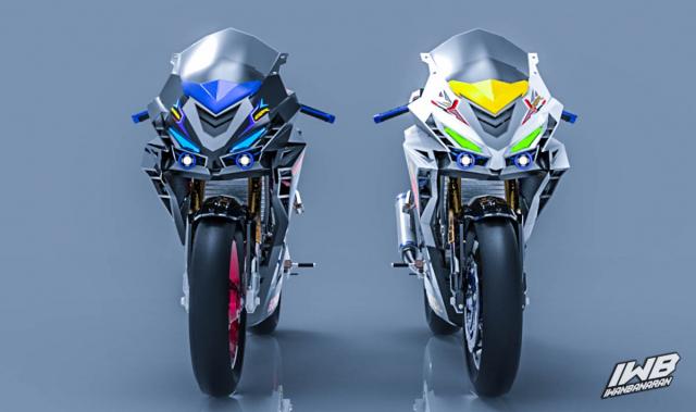 Lo thiet ke cua Honda CBR250RR 2022 ngau khong tuong - 6