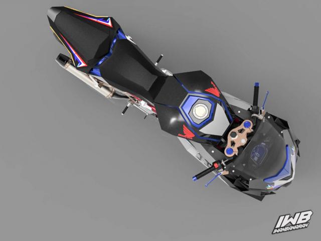 Lo thiet ke cua Honda CBR250RR 2022 ngau khong tuong - 16