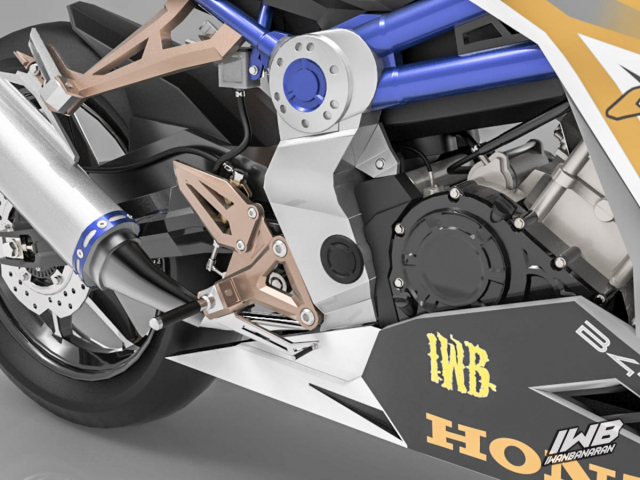 Lo thiet ke cua Honda CBR250RR 2022 ngau khong tuong - 22