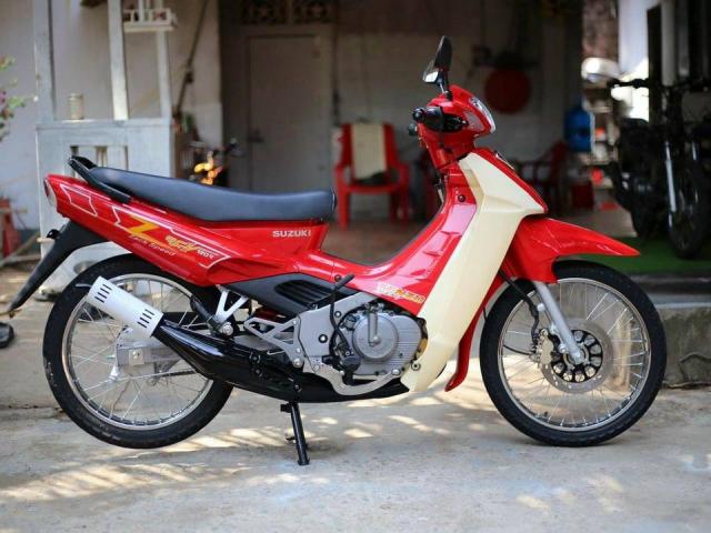 SUZUKI RGV 120 Doi 2002 Du Mau Moi 100 Xe Nhap Khau Khong Thue Hai Quan Gia Re LH 0898186227 - 5