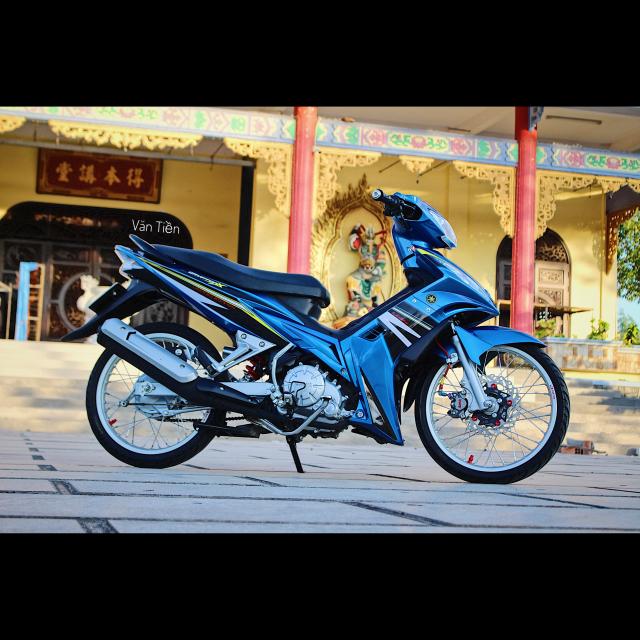 Yamaha Exciter 135 kieng nhe khoe dang trong nang chieu - 9
