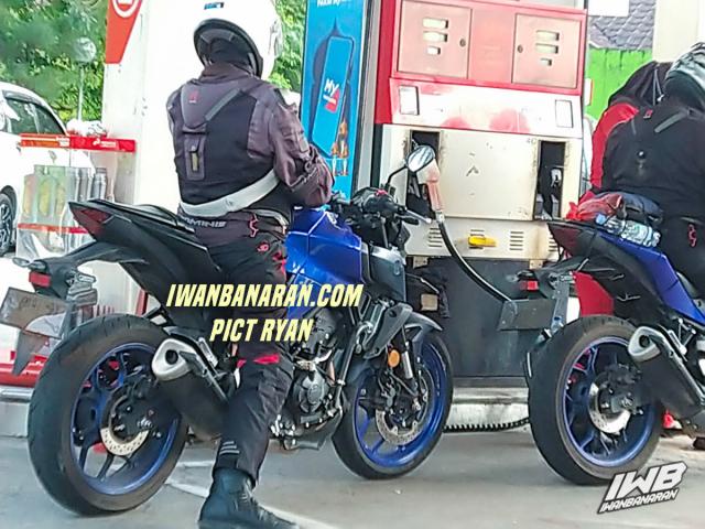 Yamaha R3 2022 va MT03 2022 tiet lo nhung thay doi moi - 4