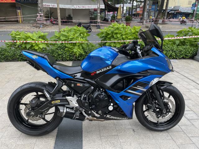 _ Moi ve xe Kawasaki Ninja 650 ABS HQCN Dang ky 112017 chinh chu odo 16900 km xe dep may zin - 6