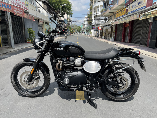 _ Moi ve xe Triumph Street scrambler 900 ABS HQCN Dang ky 42018 chinh chu odo 7600 km Dung c - 7
