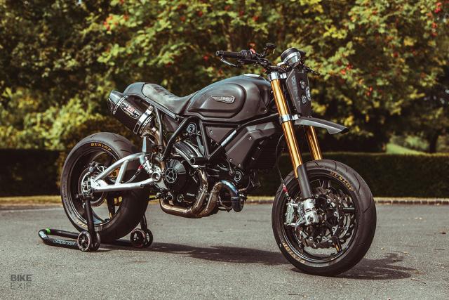 Ducati Scrambler 1100 do tao ton tu Goblin Works Garage