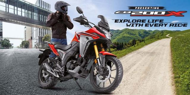 Honda CB200X xung dang la phien ban thu gon cua Africa Twin voi gia ban phai chang