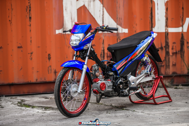 Honda Nice 125 do ngau vo doi cua vi chu nhan thich bay bong - 25