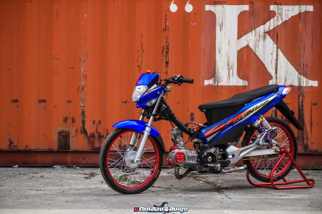 Honda Nice 125 do ngau vo doi cua vi chu nhan thich bay bong - 28