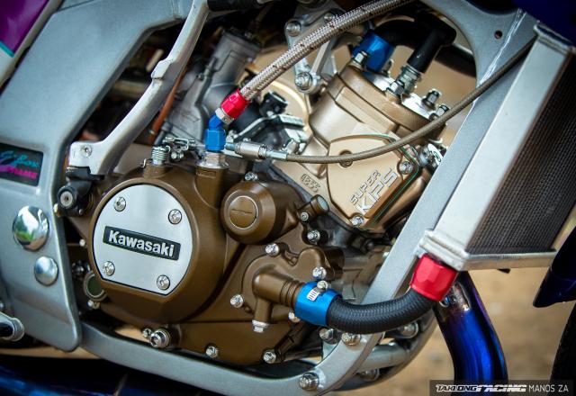 Kawasaki Kips 150 do cuc khung khien ban nhin khong chop mat