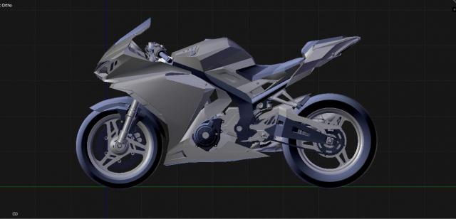 Lo dien hinh anh 3D cua Yamaha R3 2022 ngau khong tuong - 4