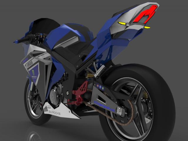 Lo dien hinh anh 3D cua Yamaha R3 2022 ngau khong tuong - 8