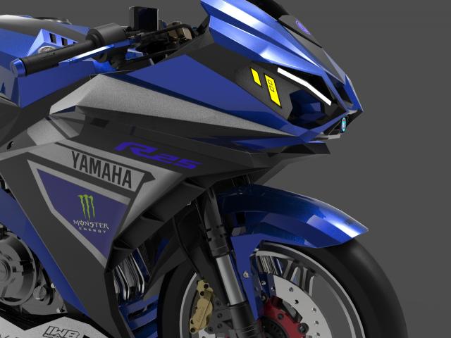 Lo dien hinh anh 3D cua Yamaha R3 2022 ngau khong tuong - 14