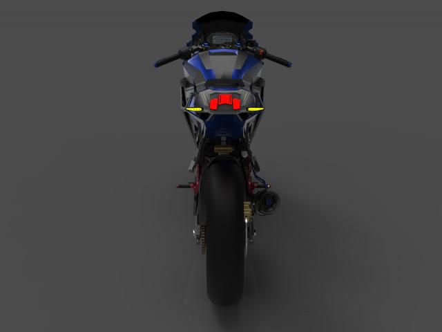 Lo dien hinh anh 3D cua Yamaha R3 2022 ngau khong tuong - 16