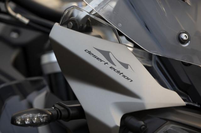 Triumph Tiger 1200 Desert 2021 va Tiger 1200 Alpine Special Edition trinh lang - 6