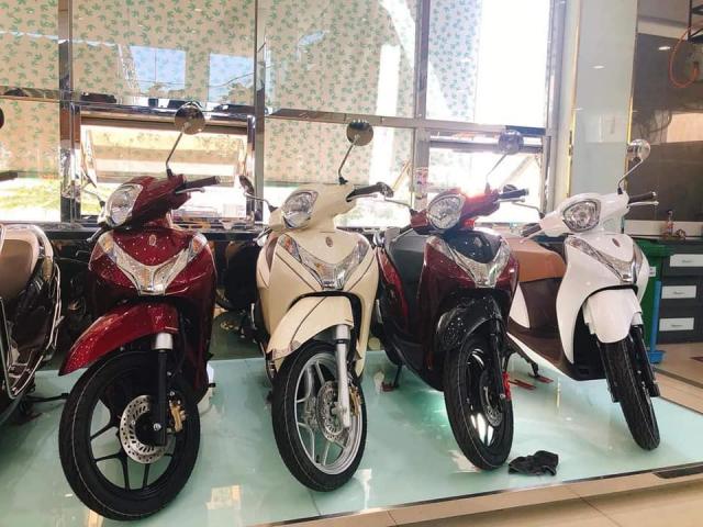 HONDA SH mode Doi 2019 Phanh ABS Xe Nhap Khau Gia Re - 8