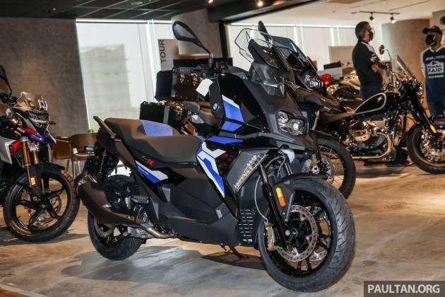 BMW C400GT 2021 va C400X 2021 vua ra mat tai Chau A