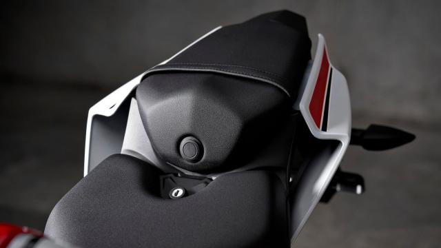Can canh Yamaha R125 2022 phien ban Ky niem trang bi an dut R15 than thanh - 13